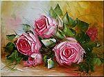 Мобильный LiveInternet Цветы мастихином от польской художницы Ewa Bartosik  | Enn18 - Дневник Enn18 |