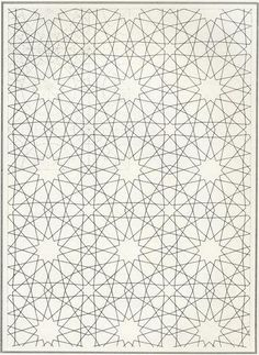 Pattern in Islamic Art - BOU 115 - would be awesome to cross stitch!