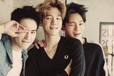 Image via We Heart It #Chen #exo #baekhyun #byunbaekhyun #kimjongdae #kimjunmyeon #suho