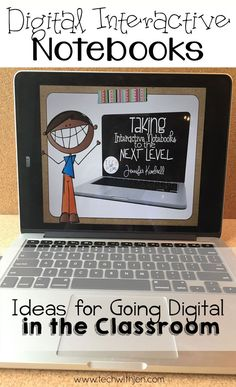 Take your reading notebooks to the next level by going digital! Tons of information to help you get started in the classroom.