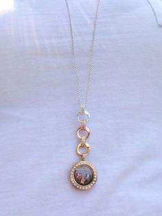 origamiowl #jewelry #locket #gold #charms