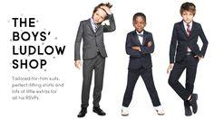 Boys' Formal Clothes - Boys' Suit Jackets, Dress Shirts & Pants, Boys' Ties, Bow Ties & Dress Shoes - J.Crew