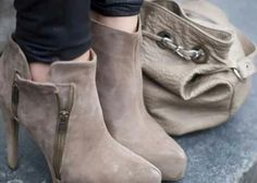 Nice Suade Ankle boots!
