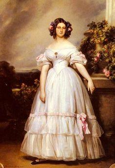 Moda no século XIX http://abstracaocoletiva.com.br/2012/11/03/moda-no-romantismo/?utm_content=buffer0fa13&utm_medium=social&utm_source=pinterest.com&utm_campaign=buffer #PadreMedium