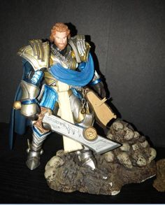 Warcraft Young Tirion Fordring (Warcraft) Custom Action Figure