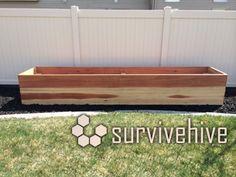 Raised Garden Planter Bed - survivehive