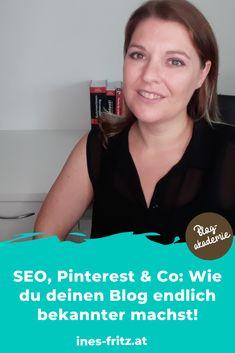 Du willst mehr Reichweite für deinen Blog? Hier habe ich alle meine persönlichen Tipps und Tricks für dich zusammengefasst! Business Inspiration, Content Marketing, Online Business, Seo, Interview, Fritz, Mindset, Wordpress, Videos