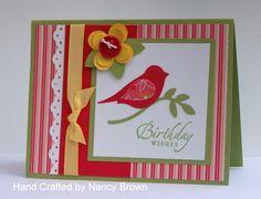 Stampin Up Birthday Card Ideas | Birthday Cards, Part 1