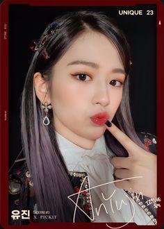 Kpop Girl Groups, Kpop Girls, Japanese Girl Group, Beautiful Fairies, Blackpink Fashion, Korean Beauty, Photo Cards, One Pic, Korean Girl