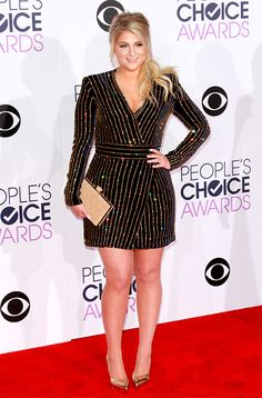 The 2016 People's Choice Awards: Meghan Trainor http://en.louloumagazine.com/celebrity/red-carpet/the-2016-peoples-choice-awards/ / Les People's Choice Awards 2016: Meghan Trainor http://fr.louloumagazine.com/stars/tapis-rouge/les-peoples-choice-awards-2016/