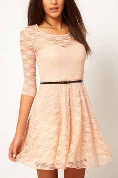 Half Sleeve Casual Lace Dress @ Casual Dresses,Women Casual Dresses,Cheap Casual Dresses,Cute Casual Dresses,Casual Dresses for Juniors,Womens Casual Dresses,Casual Summer Dresses,Casual Maxi Dresses,Long Casual Dresses,Short Casual Dresses,White Casual Dresses,Sexy Casual Dresses