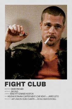 Minimalist fight club movie poster An industrial film poster is usually mass-produced to get lead Iconic Movie Posters, Minimal Movie Posters, Cinema Posters, Iconic Movies, Club Poster, Poster S, Fight Club, Arctic Monkeys Poster, Naruto Poster