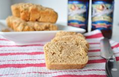 My Whole Food Life. These beer bread mini loaves would be great as a burger bun or served with soup or chili. Bread Recipes, Baking Recipes, Whole Food Recipes, Vegan Recipes, Pumpkin Spice Waffles, Homemade Buns, Homemade Breads, Beer Bread, Burger Buns