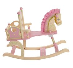 ROCK-A-BYE BABY DOLL Girl's ROCKING HORSE :: Rocking Horses ...