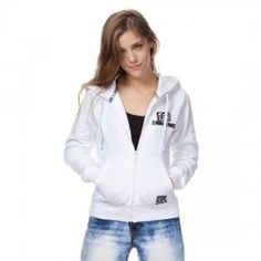 SUDADERA INDIAN GIRL BASIC ZIPPER Colores: #ROJACORAL #AZULROYAL #BLANCA #NEGRA #VERDE #MARRON 47,95 € impuestos inc. Enlace: http://www.factory-modas.com/52-jerseys-y-sudaderas