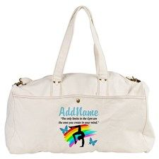 DAZZLING GYMNAST Duffel Bag Personalized Gymnastics bags and tote to motivate your fabulous Gymnast. http://www.cafepress.com/sportsstar/10114301 #Gymnastics #Gymnast #WomensGymnastics #Gymnastgift #Lovegymnastics #PersonalizedGymnast