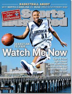 7cf6ef77d888 High school athletes who have appeared on the cover of Sports Illustrated   Sebastian Telfair Sebastian