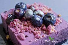 Raw blueberry bar