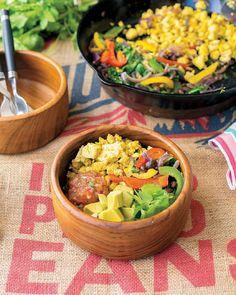 Jackie Sobon's Scramble Burrito Bowl
