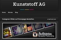 wie man #Instagram auf einer Website einbinden kann