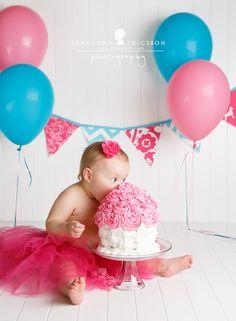 Miss M is one! Sonoma County baby photographer Smash cake » Jeneanne Ericsson Photography