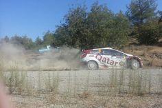 Cyprus Rally ERC-MERC 2015 PYRGA SS11. Andreas Spanos