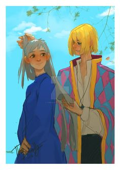 2016 - Howl and Sophie SPEEDPAINT by TheBananafly on DeviantArt