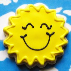 Sunshine Cookies by thePieceDeResistance on Etsy, $30.00