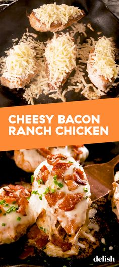 Bacon Ranch Chicken Cheesy Bacon Ranch Chicken is the keto dinner you've been missing. Get the recipe at .Cheesy Bacon Ranch Chicken is the keto dinner you've been missing. Get the recipe at . Frango Bacon, Receitas Crockpot, Chicken Breast With Bacon, Chicken Breasts, Pollo Keto, Cena Keto, Aperitivos Keto, Ranch Chicken Recipes, Healthy Recipes
