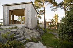 LY Arkitekter, Norway. Storøya Summer house. Small pavillion.