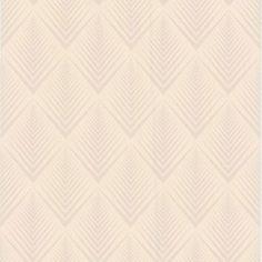 Graham & Brown Soprano White Wallpaper GRBR50190