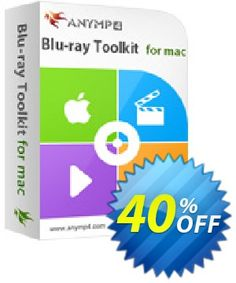6b999291bc  40% OFF  AnyMP4 Blu-ray Toolkit for Mac Coupon National Women month