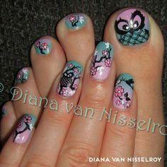 MoYou stamping nail art