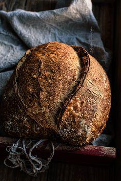 Pan básico, mi primer pan de masa madre / Sordough Bread - Bake Street