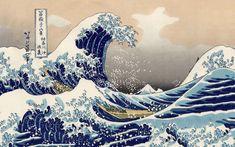 No Wave, Great Wave Off Kanagawa, Japanese Waves, Japanese Art, Japanese Wave Painting, Hokusai Great Wave, Ikea Family, Katsushika Hokusai, Art Japonais