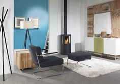 Wanders Balsa 100 Gas - Atmost Stoves and Fireplaces Antibes, Saint Tropez, Insert Stove, Wood Logs, Gas Stove, Gas Fireplace, Fireplaces, Nice, Floor Chair