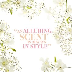 Fragrance goes with every look. #quote