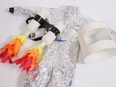 DIY-Anleitung: Astronauten-Kostüm für Kinder selber machen via DaWanda.com