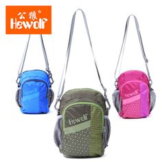 Outdoor Multi-functional Leisure Oblique Bag Unisex Sports Package Nylon Lattice Cloth 3 Colors 2L Capacity High Quality Hot