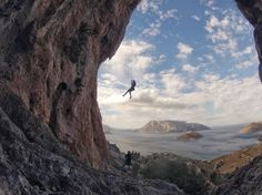 #climbing  (Photo shot with a #GoPro)
