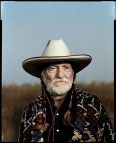Willie Nelson By Dan Winters Country Music Stars, Country Singers, Country Artists, Modern Portraits, Male Portraits, Portrait Ideas, Portrait Studio, Angeles, Environmental Portraits