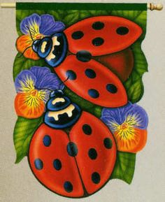Such cute little ladybugs!