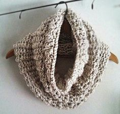 Super Chunky Wool Cowl. Keep warm.
