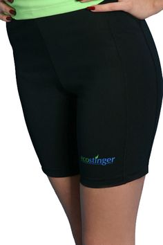 8a3aed4a1b6c9 Ladies Sun Protection Clothing Swim Shorts Black Plus Size Sun Protection