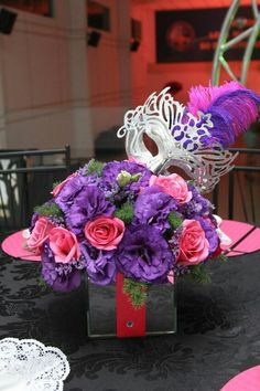Masquerade purple and pink