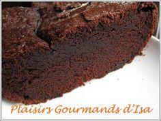 Cake au chocolat (recette d'Alain Ducasse) - Un goût délicieux et un moelleux incomparable.