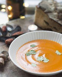 Soupe de carottes et moules tandoori pour 8 personnes - Recettes Elle à Table