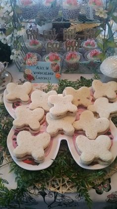 Bread and butterfly sandwiches for alice in wonderland tea party | Fairy Garden Party