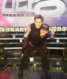 SBS Star King's IG update of Suho with Jackson of GOT7