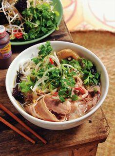 Hue beef noodle soup Bún bò Hu More